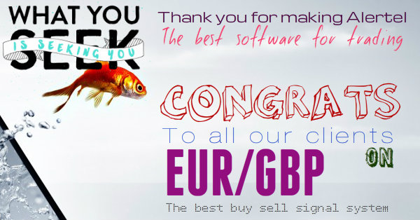 Congratulations to all our clients for listening to Alertel platinum Buy Sell Software