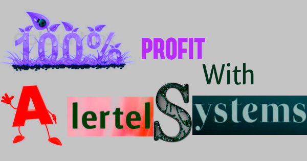 How to get 100% profit using Alertel buy sell signal software